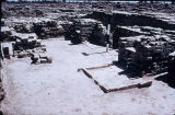 Ruins of a public place at Mohenjo daro, Indus Valley, ca. 2000 B.C.