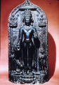 Crowned Buddha, carved from black chlorite, Pala-Sena period, probably India, ca. 10th-11th...