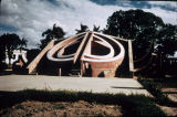 Astronomical measuring structure with three staircases, from Jantar Mantar Observatory, Delhi,...