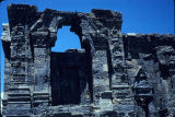 Front close up of Martand Sun Temple ruins, Anantnag, Kashmir, India, ca. 725-756 A.D.