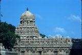 Subramanya temple in the Great Brihadishwara temple complex, Tanjore, Tamil Nadu, India, ca. 1750...