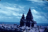Shore Temple, Mahabalpuram, Tamil Nadu, India, ca. 8th century A.D.
