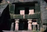 Chaitya front, Kanheri caves, Maharashtra, India, ca. 6th century A.D.
