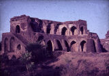 Hindola Mahal, or Swinging Palace, Mandu, Madhya Pradesh, India, ca. 15th century A.D.