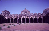 Inner yard of Jami Mosque in Mandu, Madhya Pradesh, India, ca. 15th century A.D.