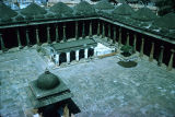 Elevated  view of Jami Mosque yard, Cambay, Gujarat, India, ca. 1325 A.D.
