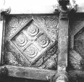 Flat section of the ceiling, with the original Hindu temple vitana, of the Adhai Din KJhompr...