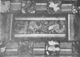 Decorative motifs with wave art, from Ajanta cave no. 1, India, 1965-2000