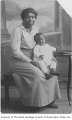 Arminta Wilson with grandson Paul Davis, Winnipeg, Manitoba, March 22, 1919