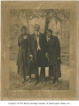 Bernice Anderson, Rev. William D. Carter, and Viola Palmer, Seattle, ca. 1925