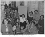 Self Improvement Club Christmas party, Seattle, December 19, 1950