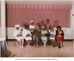 Cosmetologists honored at Black Heritage Society annual meeting, Seattle, 1999