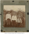 Bob, Arthur, and Roy Harvey, Seattle, ca. 1900