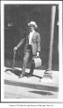 Dr. William H. Calhoun with medical bag, Seattle, ca. 1945