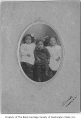 Marjorie, Russell, and Lila Gideon, Liverpool, Nova Scotia, 1906