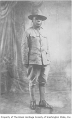Al Hall in Army uniform, possibly at Ft. Lewis, 1918
