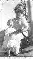 Phyllis Hill and Mary Cruse, Bellevue, 1915