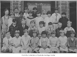 Bellevue Grade School students and teacher, Bellevue, October 20, 1926