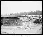 Redmond Shopping Square under construction, July 12, 1956