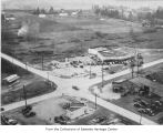 Aerial of NE 8th Street & Bellevue Way, Bellevue, ca. 1937