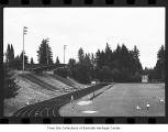 Bellevue High School football field, Bellevue, 1989