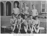 Bellevue Grade School basketball team, Bellevue, 1928
