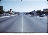 Bellevue Way looking south, Bellevue, ca. 1969