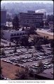Aerial of Puget Power parking lot, Bellevue, ca. 1969