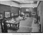 Clise Mansion's art gallery, Redmond, n.d.