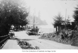 Entrance to ferry dock, Bellevue, 1915