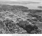 Aerial of Bellevue from the northeast, ca. 1960