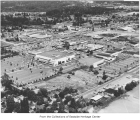 Aerial of Bellevue Square from the southwest, Bellevue, ca. 1961
