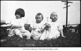 Glenette, Gretchen, and Phyllis Hill, Seattle, 1913