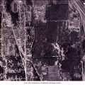 Aerial of Bellevue, ca. 1965