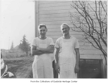 Delbert Hutchison and John Viehmann, Bellevue, ca. 1938