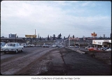 Midlakes at NE 8th Street and 116th Avenue NE looking west, Bellevue, ca. 1969