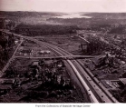 Aerial of Bellevue from the north, ca. 1969