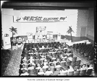 Electric cooking demonstration, Redmond, September 27, 1956