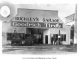 Buckley's Garage, Redmond, ca. 1925