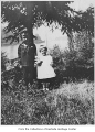 Charles and Phyllis Eminson near Meydenbauer Bay, Bellevue, ca. 1920