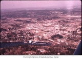 Aerial of Bellevue from the west, ca. 1955