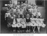Bay-Medina School fifth grade class, Hunts Point, 1948-49
