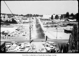 106th Avenue NE and Main Street, Bellevue, ca. 1959