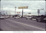 116th Avenue NE looking north, Bellevue, ca. 1969