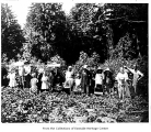 Berry pickers at Englebert berry farm, Juanita, ca. 1915