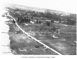Aerial of waterfront, Kirkland, 1930