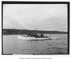 Arro, a gasoline powered yacht at sea, n.d.