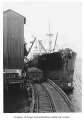 Arna, a freight steamer docked at bunkers, n.d.
