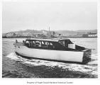 Birdee, a gasoline powered cruiser, at sea, n.d.