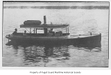 Hyak, a steam launch, at sea, n.d.